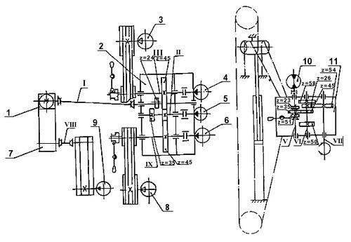 Урб-2а2 схема гидравлики