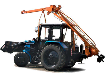 Бурильно-крановая машина БМ-205Д