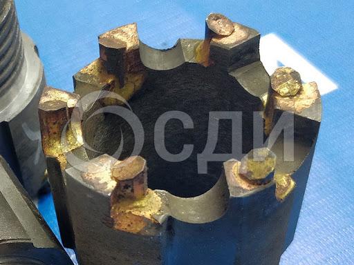 Коронка КТ-10 диаметром 96 мм