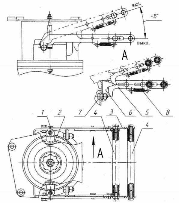 Сцепление КМ-10