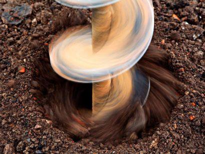 Шнековое бурение скважин технология