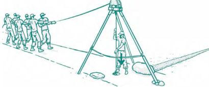 Ударно-канатный способ бурения скважин