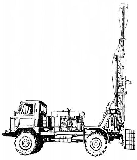УГБ-1ВС схематический рисунок буровой установки